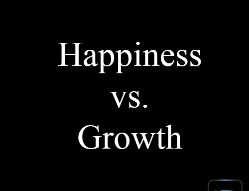Happiness vs. Growth